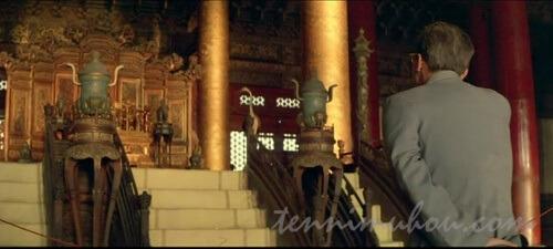 紫禁城を訪れた溥儀