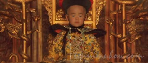 3歳の時の溥儀