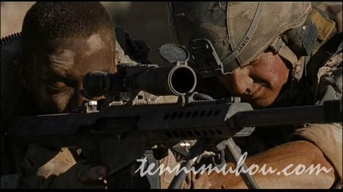 狙撃中の二人