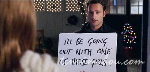 ジュリエットにメッセージを送るマーク
