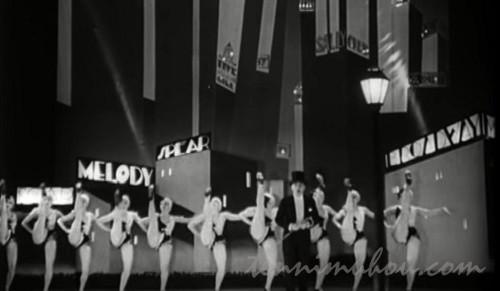 【ブロードウェイ・メロディ】チャールズ・キングとベッシー・ラヴとアニタ・ペイジ
