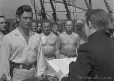 【戦艦バウンティ号の叛乱】船長と衝突するクリスチャン