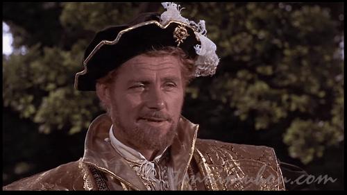 ロバート・ショウ扮するヘンリー8世