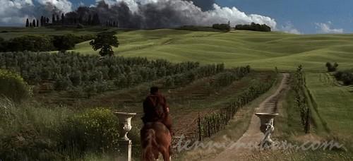 馬を駆けるマキシマス