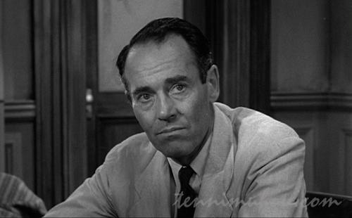 陪審員8番ヘンリー・フォンダ