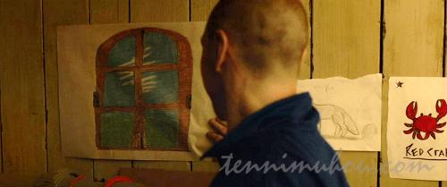 ヘドウィグの部屋の窓