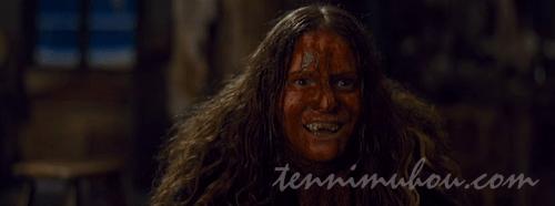 血だらけでも高笑いするジェニファー・ジェイソン・リー