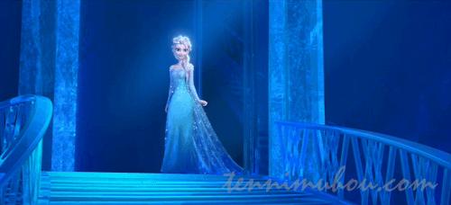 氷の城のエルサ
