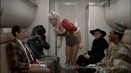 列車の中で仮想大会?