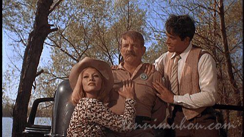 テキサス・レンジャーをおちょくるボニーとクライド