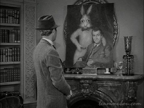 【ハーヴェイ(1950)】あらすじと観た感想。ウサギ見えそう