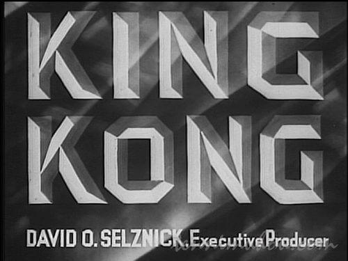 キング・コング1933タイトル