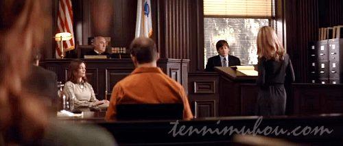法廷で証言するジョー