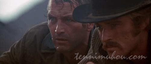 ピンカートン探偵社に追われるブッチとキッド