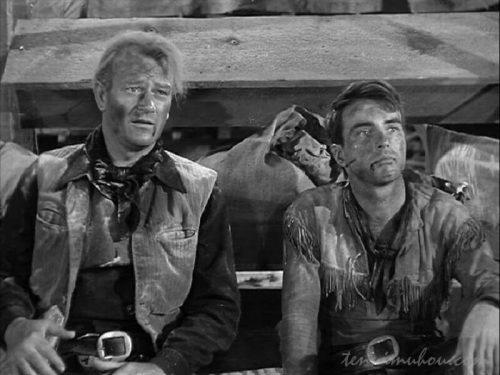 【赤い河(1948)】あらすじと感想。10000頭の牛の大移動