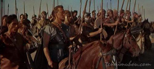 ローマ軍と全面戦争となるスパルタカス