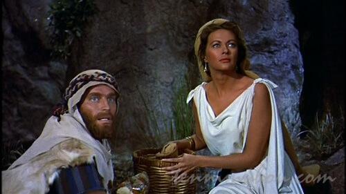 セフォラと羊飼いとして生きるモーセ