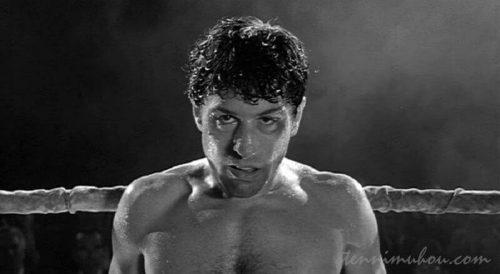 【レイジング・ブル】でジェイク・ラモッタを演じるロバート・デ・ニーロ
