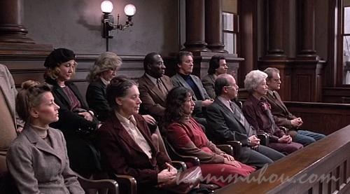評決をくだす陪審員たち