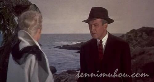 崖で話し込むマデリンとスコティ