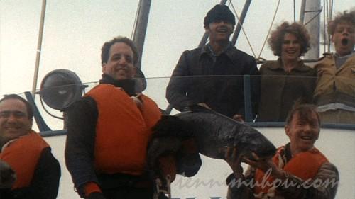 【カッコーの巣の上で】釣りに出かけるマクマーフィ