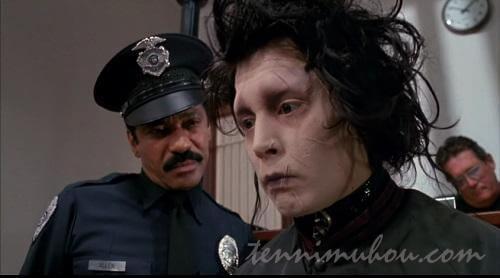エドワードを心配するお巡りさん