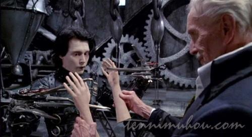 エドワードに手をプレゼントする発明家