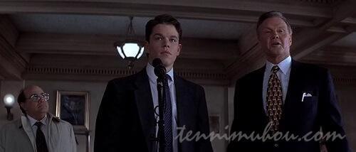 法廷でドラモンドと戦う宣言してるルーディ
