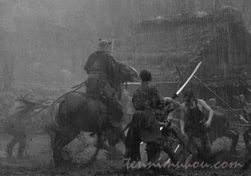 豪雨での最終決戦