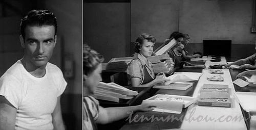 工場で働くアリス。