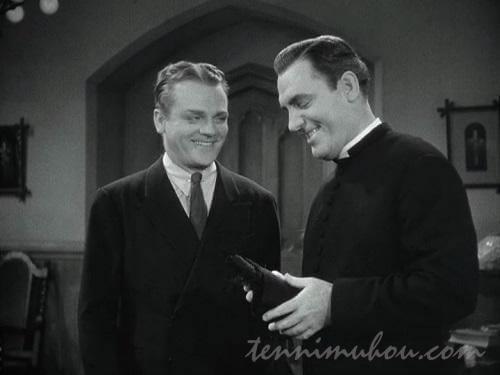 ジェリー神父を訪ねるロッキー