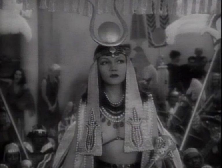 【クレオパトラ(1934)】クローデット・コルベール