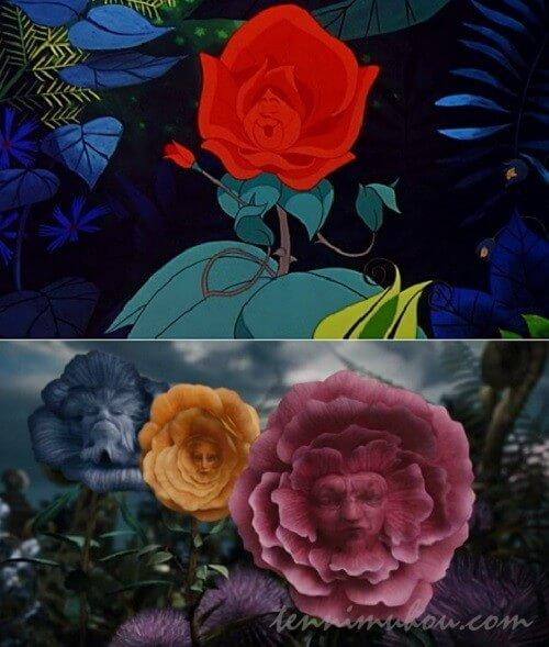 【アリス・イン・ワンダーランド】花たち