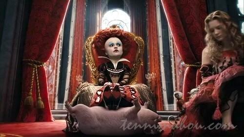 赤の女王とアリス