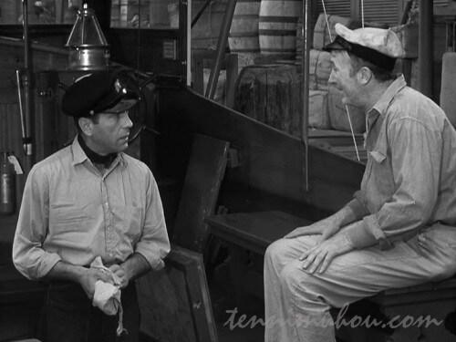 【脱出(1944)】ウォルター・ブレナンとハンフリー・ボガート