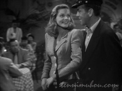 【脱出(1944)】ローレン・バコールとハンフリー・ボガート