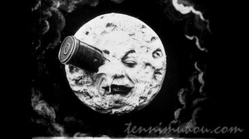 【月世界旅行】月の右目にささったロケット