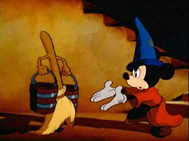【ファンタジア(1940)】魔法使いの弟子