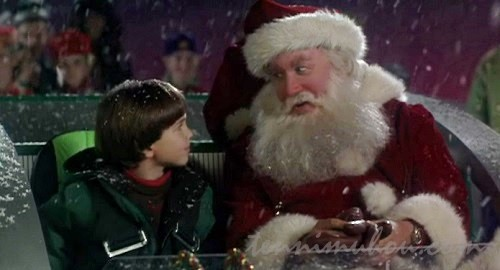 【サンタクローズ】チャーリーとおもちゃを配るスコット