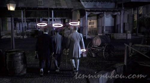 【俺たちは天使じゃない】天使の輪っかが付いた3人
