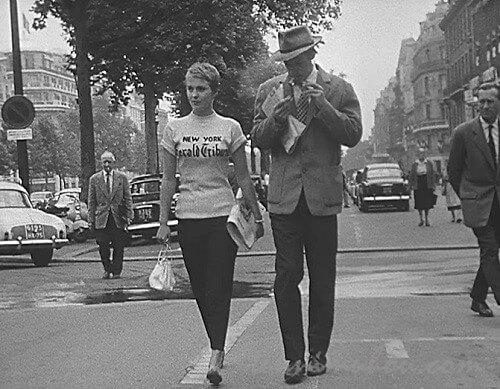 【勝手にしやがれ】ジャン=ポール・ベルモンドとジーン・セバーグ