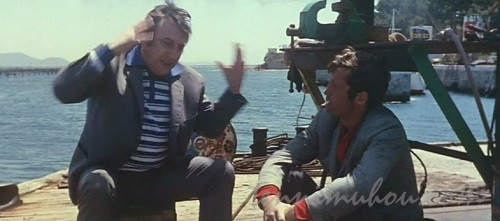 【気狂いピエロ】ジャン=ポール・ベルモンド