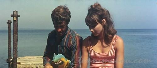 【気狂いピエロ】アンナ・カリーナとジャン=ポール・ベルモンド