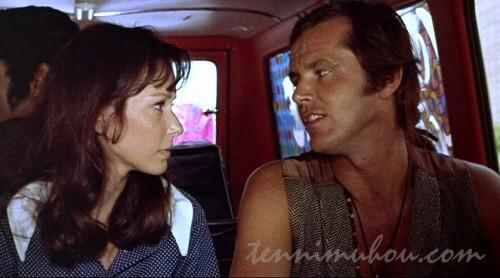 【嵐の青春】ジャック・ニコルソンとスーザン・ストラスバーグ