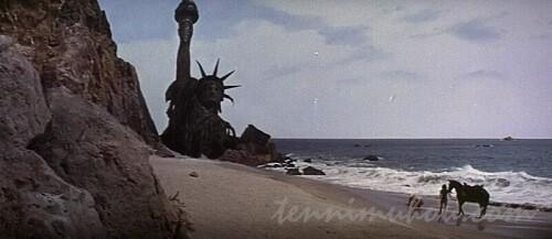 【猿の惑星(1968)】ラストシーン