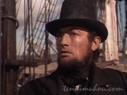 【白鯨(1956)】グレゴリー・ペック