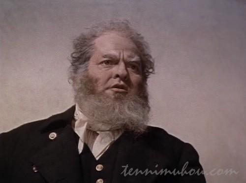 【白鯨(1956)】オーソン・ウェルズ神父
