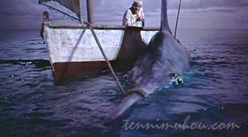 【老人と海】スペンサー・トレイシー