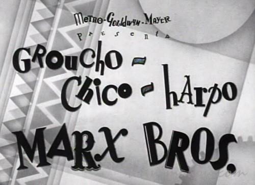 【オペラは踊る】マルクス兄弟