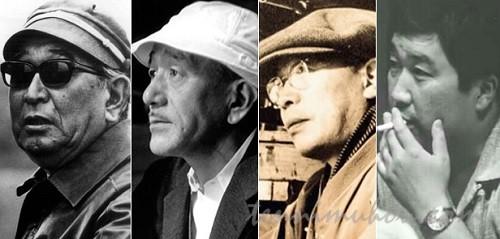 戦後日本映画の巨匠たち